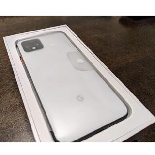 ANDROID - 【新品未使用】Pixel 4 ホワイト64GB SIMフリー Google