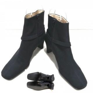 サルヴァトーレフェラガモ(Salvatore Ferragamo)の美品!フェラガモ SalvatoreFerragamoパンプス3 1/2D 靴(ハイヒール/パンプス)