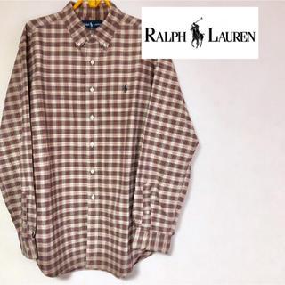 Ralph Lauren - 【ビックシルエット 】Ralph Lauren ラルフローレンワンポイントシャツ