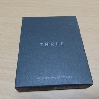 【新品】THREE(スリー)  シマリンググローデュオ 6.8g #01