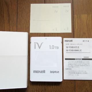 マクセル(maxell)のiVDR-S 1TB カセットハードディスク「iV(アイヴィ)」(その他)