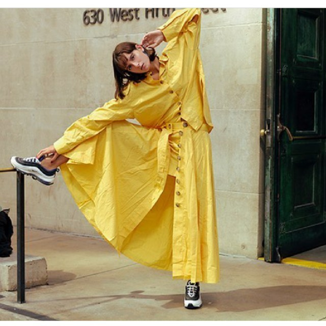 ENFOLD(エンフォルド)のナゴンスタンスnagonstans スカート イン ショートパンツ レディースのスカート(ロングスカート)の商品写真