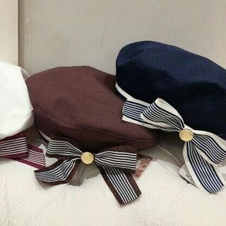 Amavel - アマベル マリンベレー帽 ブラウン 新品未開封