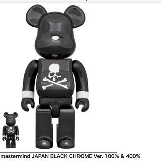MEDICOM TOY - BE@RBRICK mastermind JAPAN 100+400セット 黒