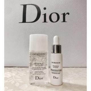 Dior - 【新品未使用】Dior スノーエッセンス ブライト& ブライトニングローション