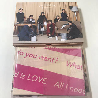 Hey! Say! JUMP - Hey!Say! JUMP/愛だけがすべて-What do you want?-