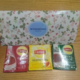 ウェッジウッド(WEDGWOOD)のウェッジウッド ワイルドストロベリーアソートティーバッグ、リプトン(茶)