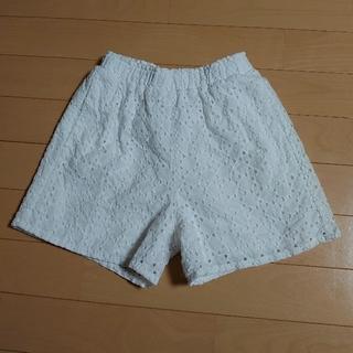 GU - 真っ白ショートパンツ