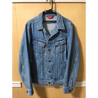 Supreme - supreme studded denim trucker jacket