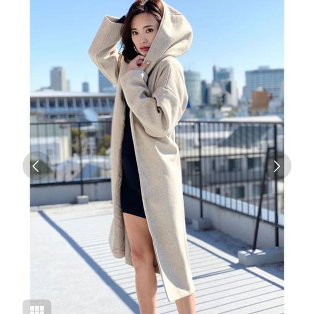 タグ付き新品☆ガウンコート☆デュラス  レディースのジャケット/アウター(ガウンコート)の商品写真