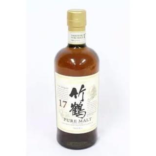 ニッカウヰスキー - ニッカウイスキー 竹鶴17年 700ml