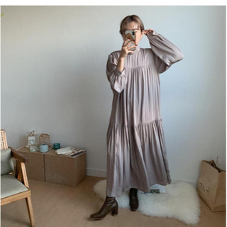 TODAYFUL - 【値下げ】nokcha ワンピース quality long one-piece