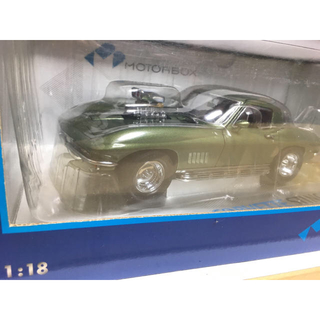 シボレー(Chevrolet)の京商 MOTORBOX '67 コルベット 427 Street Machine(ミニカー)