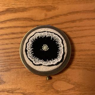 ミナペルホネン(mina perhonen)のミナペルホネン  コンパクトミラー ハンドメイド  鏡(ミラー)