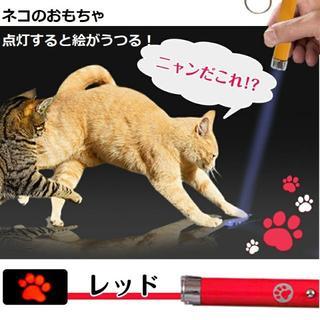 猫 おもちゃ レーザー ねこ ネコ ポインター レーザーポインター レッド