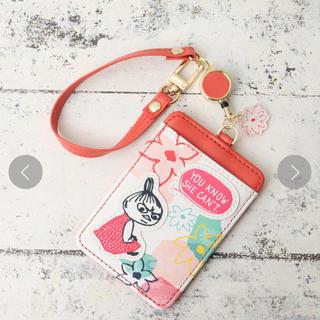 AfternoonTea - Moomin×Afternoon Tea/コードリール付きパスケース