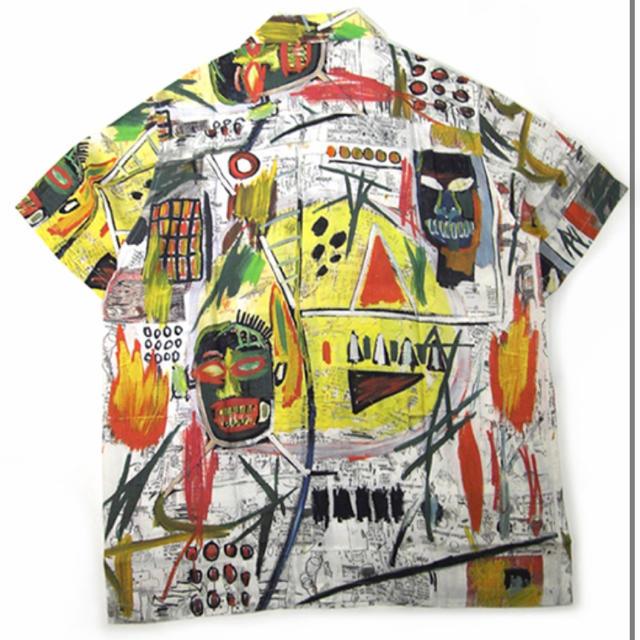 WACKO MARIA(ワコマリア)のWACKOMARIA ✖️BASQUIAT / バスキア メンズのトップス(シャツ)の商品写真