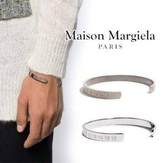 Maison Martin Margiela - メゾンマルジェラ 11ナンバー シルバー バングル ブレスレットmargiela