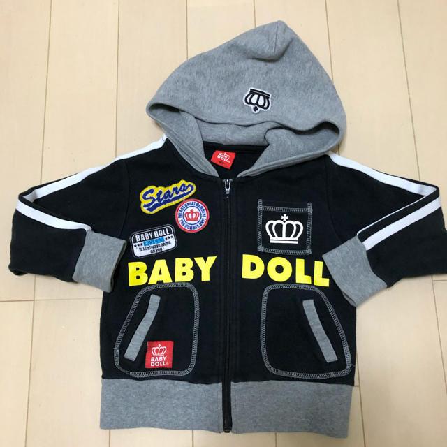 BABYDOLL(ベビードール)のベビドパーカー キッズ/ベビー/マタニティのキッズ服男の子用(90cm~)(ジャケット/上着)の商品写真
