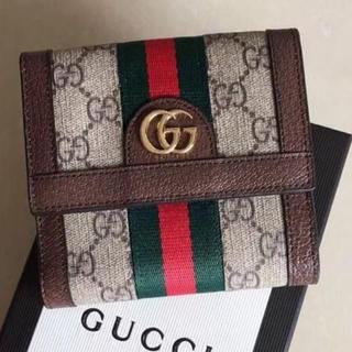 Gucci - グッチ (オフィディア)フレンチフラップウォレット
