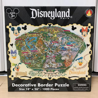 Disney - カリフォルニア ディズニーランド パークパズル