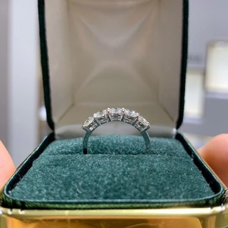天然ダイヤモンドリング0.93ct k18