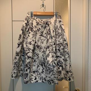 STRAWBERRY-FIELDS - ボタニカル柄 花柄スカート