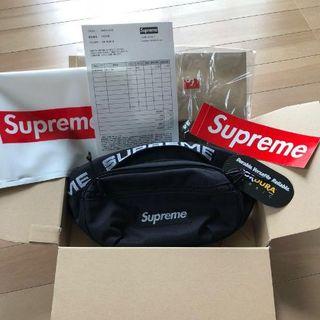 Supreme - Supreme Waist Bag Black 18ss ウエスト バッグ 黒