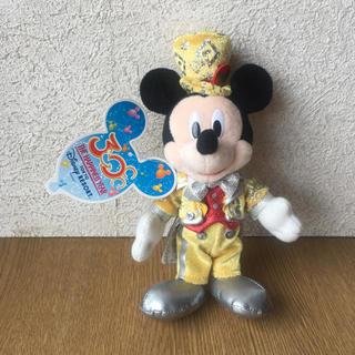 Disney - 〈タグ付き〉ディズニーランド30周年限定 ミッキー ぬいぐるみバッジ