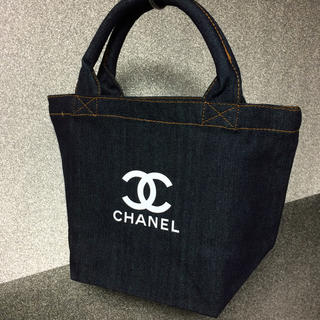 CHANEL - デニムバッグ ノベルティ シャネル