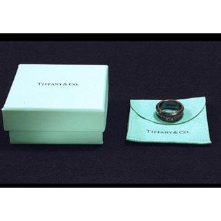 ティファニー(Tiffany & Co.)のTiffany& Co. 1837ミッドナイト チタン シルバーブラック 15号(リング(指輪))