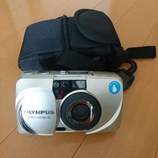 オリンパス(OLYMPUS)の必見♪【OLYMPUS】μmuj ZOOM 130 ★フィルムカメラ★ケース付き(フィルムカメラ)