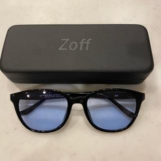 Zoff - サングラス ブルー ウェリントン