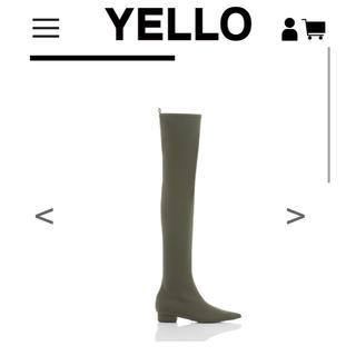 イエローブーツ(Yellow boots)の【未使用】YELLO   MOSS FLAT LONG(ブーツ)