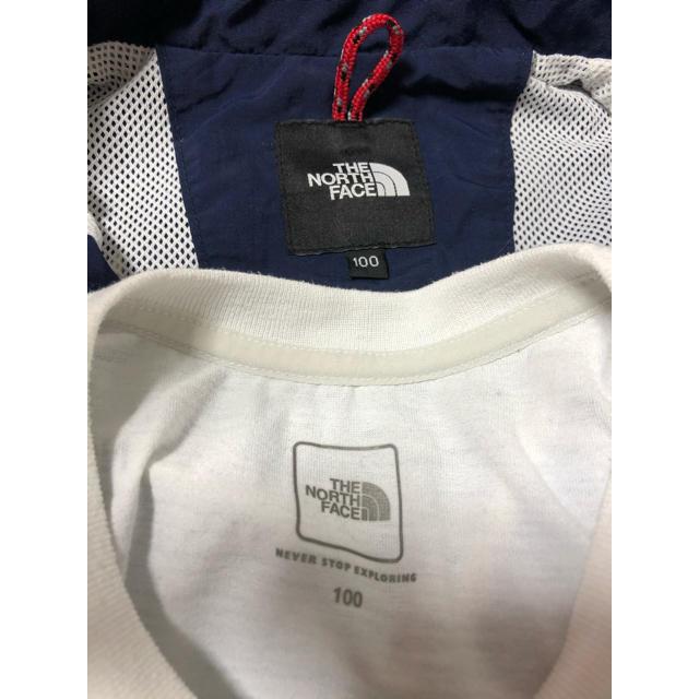 THE NORTH FACE(ザノースフェイス)のノースフェイス マウンテンパーカーセット キッズ/ベビー/マタニティのキッズ服男の子用(90cm~)(ジャケット/上着)の商品写真
