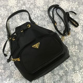 PRADA - プラダ ショルダーバッグ黒