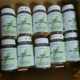 マイプロテイン(MYPROTEIN)のマイプロテイン デイリーマルチビタミン10本(ビタミン)