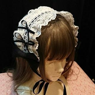 ベイビーザスターズシャインブライト(BABY,THE STARS SHINE BRIGHT)のヘッドドレス 黒×オフ白(ヘアアクセサリー)