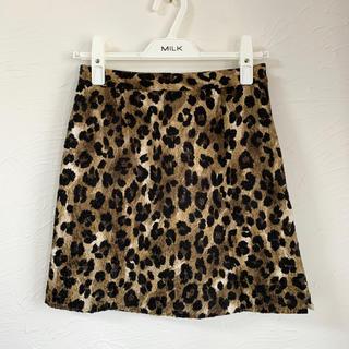 snidel - leopard skirt