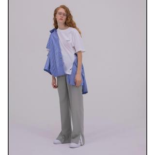 ルシェルブルー(LE CIEL BLEU)のIrene アイレネ ストライプレイヤードシャツ(シャツ/ブラウス(長袖/七分))