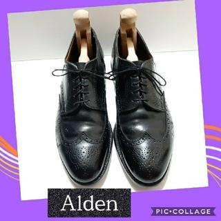 Alden - Alden 中古 美品 9 ウィングチップ 967 オールデン ビジネスシューズ