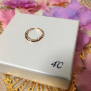 ヨンドシー(4℃)の4°C ダイア×K10リング♡(リング(指輪))