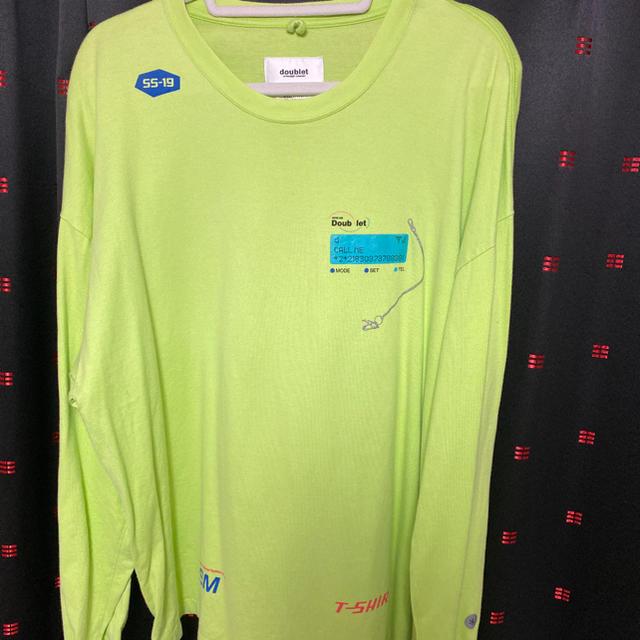JOHN LAWRENCE SULLIVAN(ジョンローレンスサリバン)のdoublet ベルT メンズのトップス(Tシャツ/カットソー(七分/長袖))の商品写真