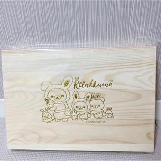 リラックマ お花畑の小さな子うさぎ木製カトラリーセット