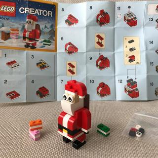 Lego - LEGO レゴ クリエイター クリスマス サンタクロース 30478
