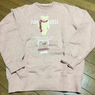 PINK HOUSE - ピンクハウス トレーナーLサイズ お値下げ