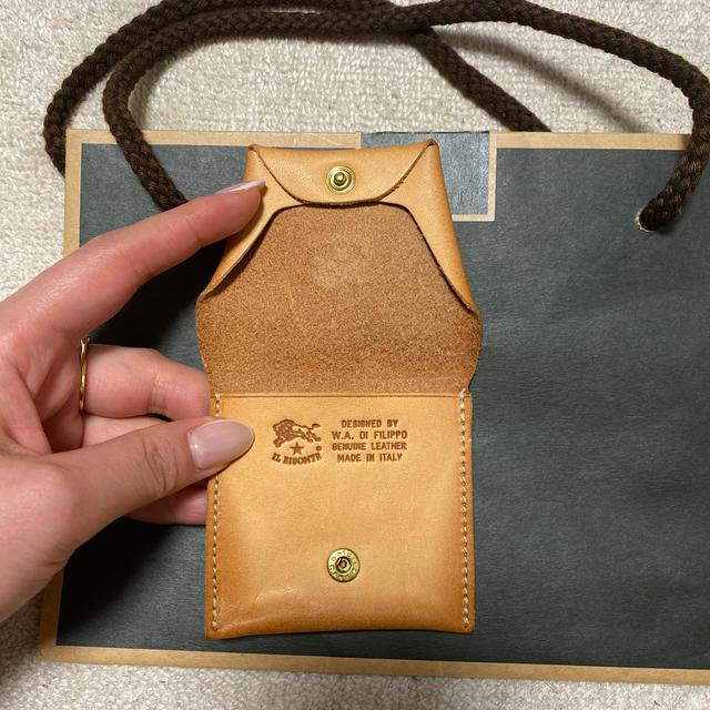 IL BISONTE(イルビゾンテ)のイルビゾンテ コインケース 未使用品 レディースのファッション小物(財布)の商品写真