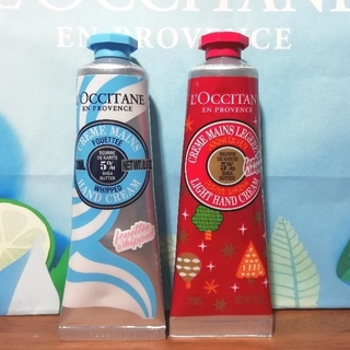 L'OCCITANE - 未使用☆ロクシタン ホイップハンドクリーム②
