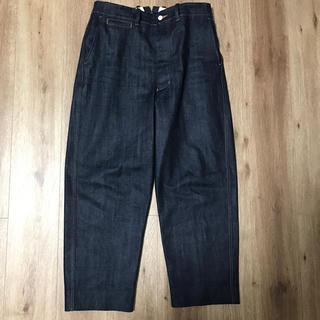 COMOLI - UNITUS  ユナイタス  Center Darts Pants