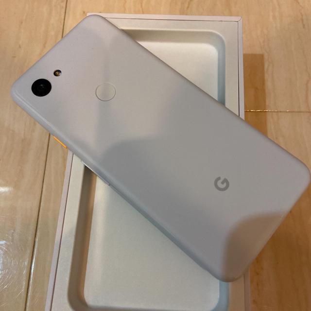 Softbank(ソフトバンク)のGoogle Pixel3aホワイト スマホ/家電/カメラのスマートフォン/携帯電話(スマートフォン本体)の商品写真
